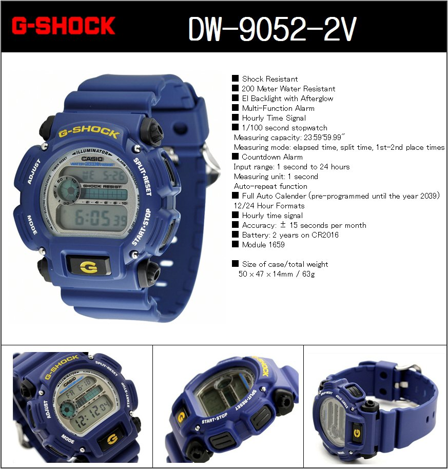 Buy Casio G Shock Watch New Stock 100 Authentic With Ems Free Dw 9052 2v Delivery Will Take 35 Days After The Order Has Shipped